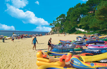 Camping Internacional de Calonge, Playa d'Aro,Costa Brava,Spain