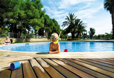 Camping Vilanova Park , Vilanova I la Geltru,Costa Dorada,Spain