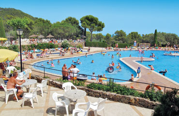 Camping Castell Montgri, Estartit,Costa Brava,Spain