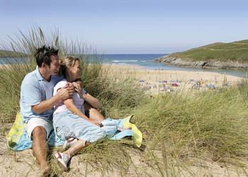 Crantock Beach, Newquay,Cornwall,England