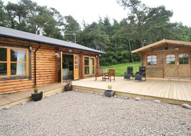 Duncrievie Log Cabins, Glenfarg,Perth and Kinross,Scotland