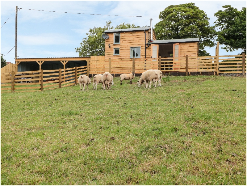 Self Catering Cottage Holidays at Shepherds Cabin at Titterstone