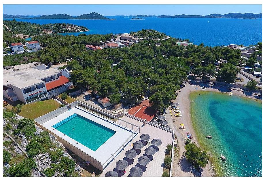 Campsite Oaza Mira, Drage,Zadar,Croatia
