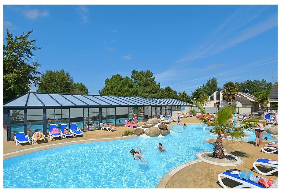 Campsite La Touesse, Saint-Lunaire,Brittany,France