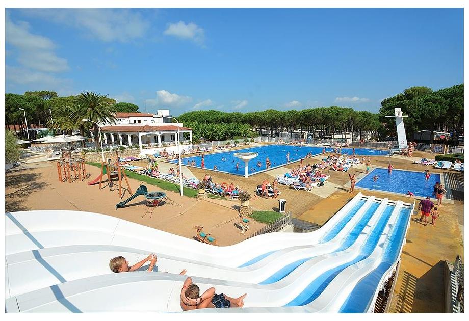 Campsite Sandaya Cypsela Resort, Pals,Catalonia,Spain