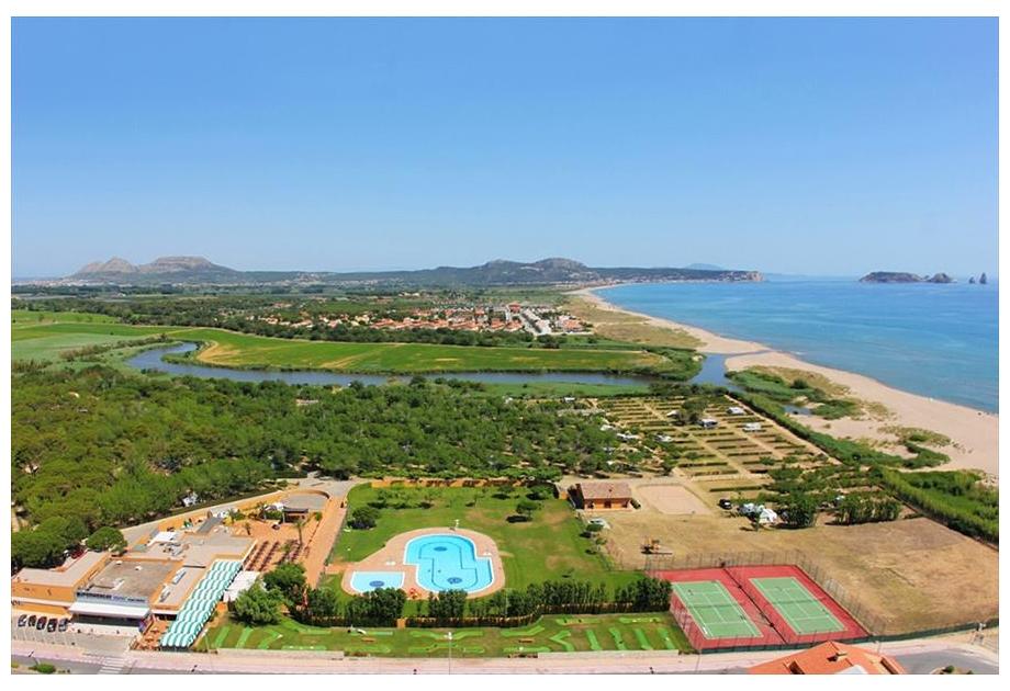 Campsite Playa Brava, Pals,Catalonia,Spain