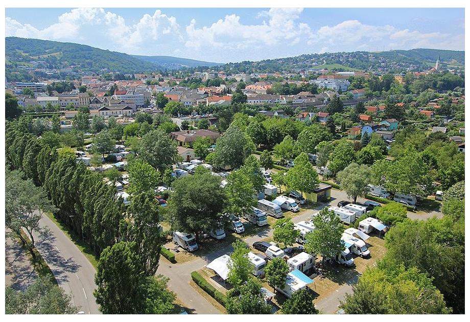 Donaupark Camping Klosterneuburg, Klosterneuburg,Danube,Austria