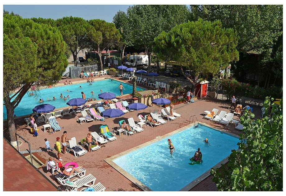 Campsite Village Punta Navaccia, Tuoro sul Trasimeno,Umbria,Italy