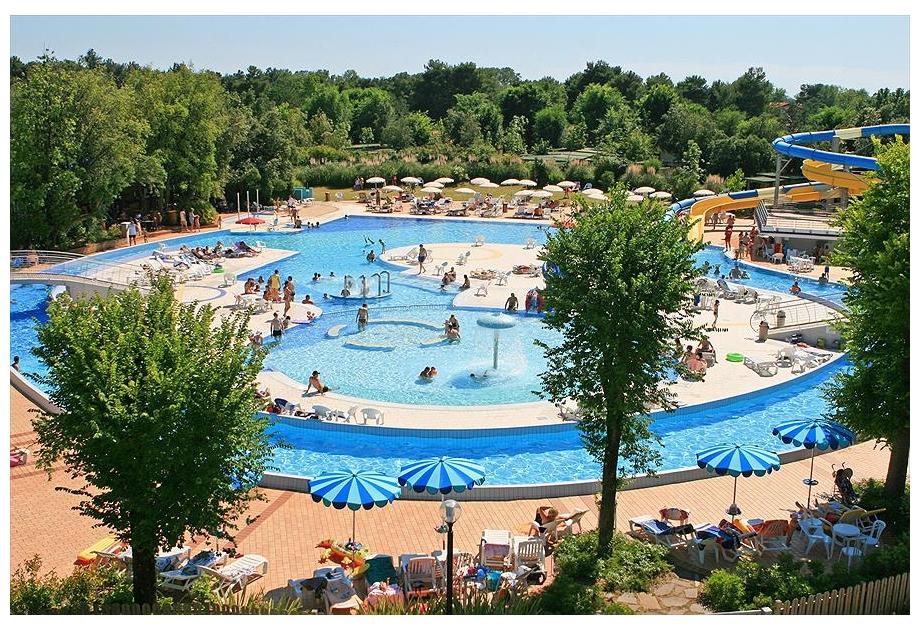 Campsite Villaggio Europa, Grado,Adriatic Coast,Italy