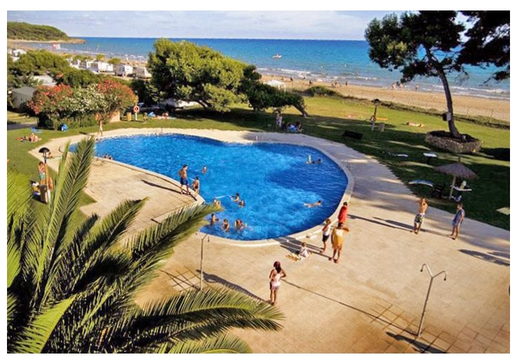 Campsite Las Palmeras, Tarragona,Catalonia,Spain