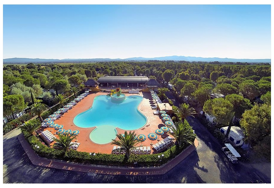 Campsite Free Time, Marina di Bibbona,Tuscany,Italy