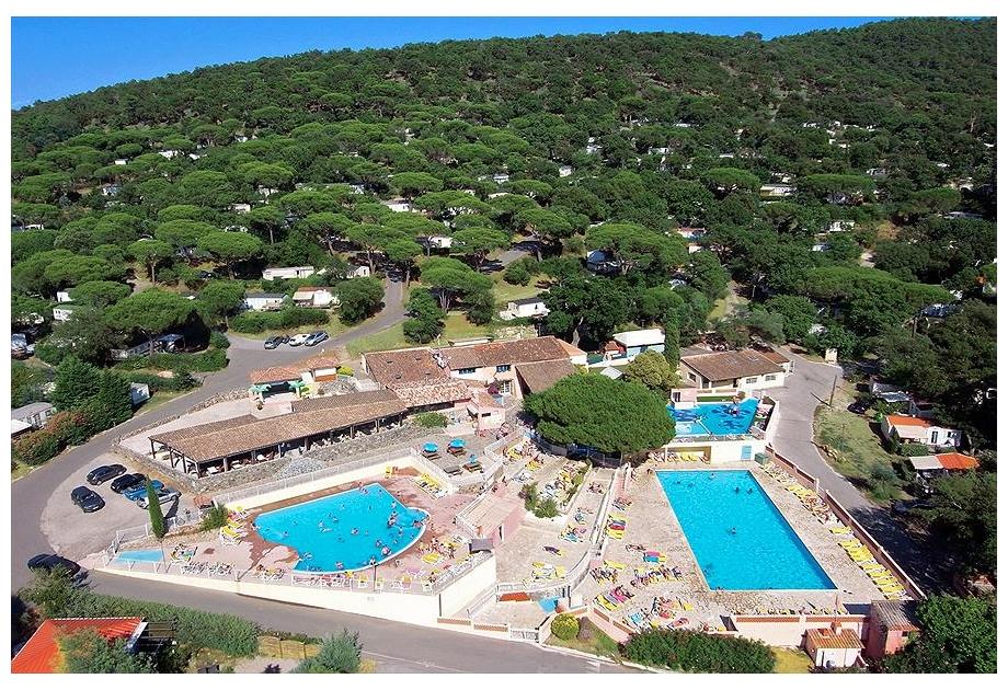 Campsite Parc Saint-James Parc Montana, Gassin,Provence Cote d'Azur,France