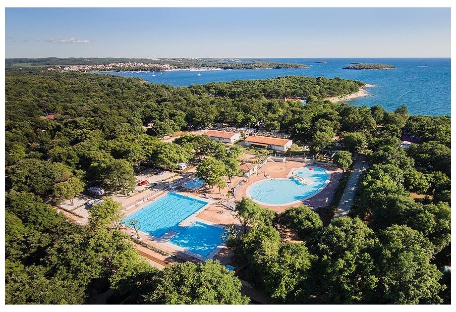 Campsite Bijela Uvala, Porec,Istria,Croatia