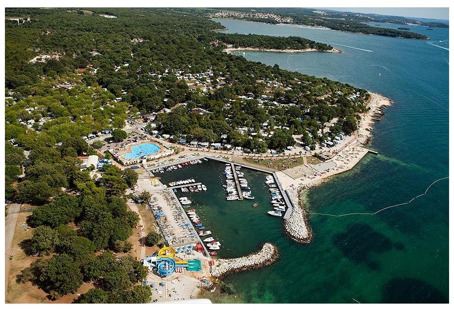 Campsite Zelena Laguna, Porec,Istria,Croatia